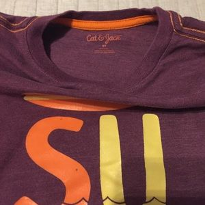Cat & Jack Matching Sets - Orange & Purple Surf Outfit